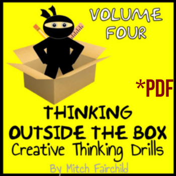 STEAM Thinking Outside The Box Drills & Emergency Sub Plans- Vol. 4 (PDF)