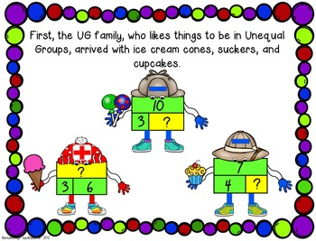 Thinking Pattern and Strip Diagram Posters, Activities, and Story NEW
