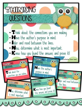 Comprehension Questions to Use with ANY TEXT