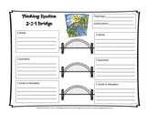 Thinking Routine 3-2-1 Bridge