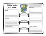 Thinking Routine 3-2-1 Bridge