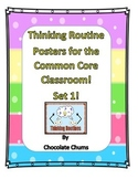 Thinking Routine Posters for the Common Core Classroom! Set 1!