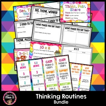 Thinking Routines Bundle