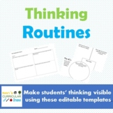 Thinking Routines (Editable Templates)