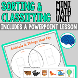 Thinking Skills : Classifying and Sorting (Kindergarten & First Grade)