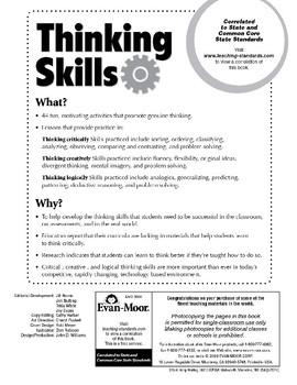 Thinking Skills, Grades 5-6