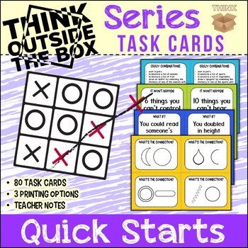 Thinking Skills Think Outside of the Box Series ~ Quick Starts