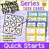 Thinking Skills Series - Quick Starts Task Cards