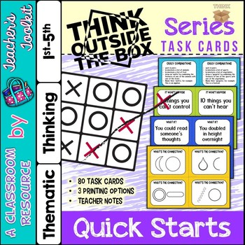 Thinking Skills Think Outside of the Box Series Quick Star
