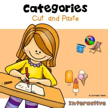 ASD Cut & Paste Activity Fun