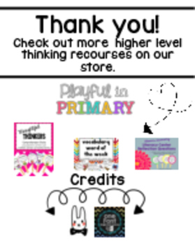 Thinking Stem Classroom Poster