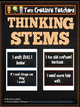 Thinking Stems Chalkboard Theme
