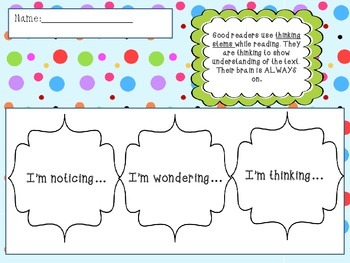 Thinking Stems Flipbook