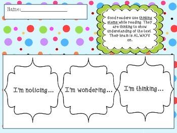 Thinking Stems Flipbook