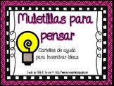 Thinking Stems Posters in Spanish