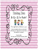 Thinking Stems- Reading Comprehension