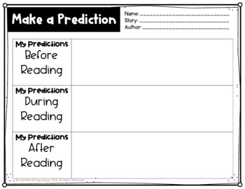 Thinking Stems for Reading Comprehension