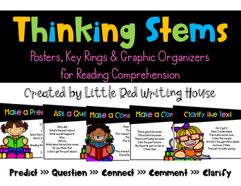 Thinking Stems {Posters & Key Rings}