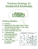 Thinking Strategies Poster #1 Background Knowledge