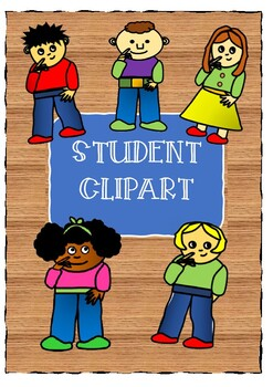 Thinking Students Clipart - Introductory Price BARGAIN!!