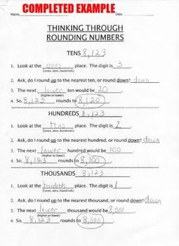 Thinking Through Rounding Numbers