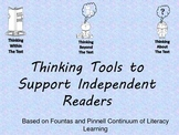 Thinking Tools to Support Indepedent Readers