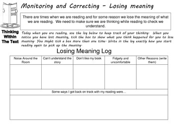 Thinking Tools to Support Independent Reading (US Version)
