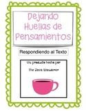 Thinking Tracks in Spanish