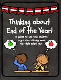 End of the Year Reflection- Creative and Critical Thinking