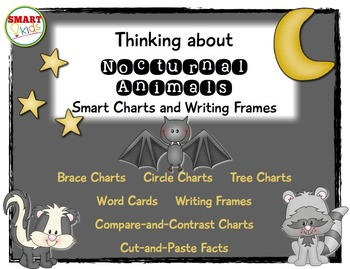 Thinking about Nocturnal Animals: Smart Charts and Writing Frames