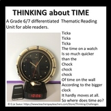 Think about TIME