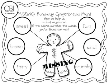Thinking about the Gingerbread Man: Smart Charts and Writing Frames