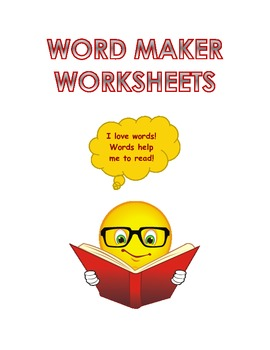 Thinking and Making Words Worksheets