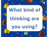 Thinking and Problem Solving Wall Signs for Word Wall