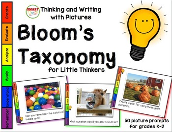 Thinking and Writing with Pictures: Bloom's Taxonomy for Little Thinkers 