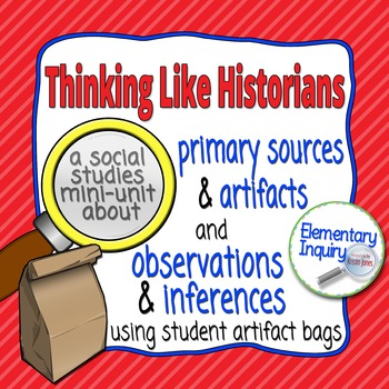 All About Me Bags: Inferencing with Primary Sources and Artifacts