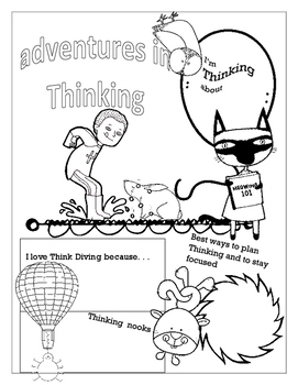 Thinking poster - Metacognition & Great Theme Planner and Starter
