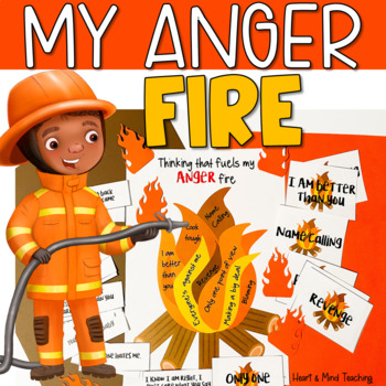 Thinking that fuels my ANGER fire; anger management, sel,
