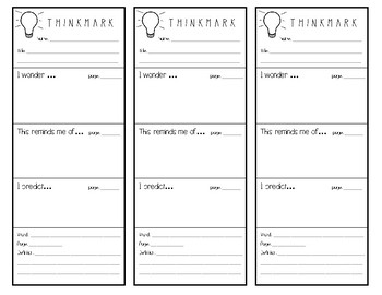 Thinkmark - Independent Reading Comprehension