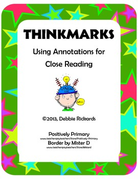 Thinkmarks: Using Annotation for Close Reading