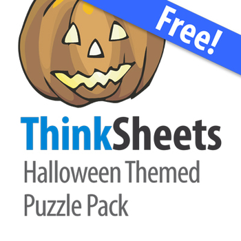 Thinksheets: Halloween Puzzle Pack