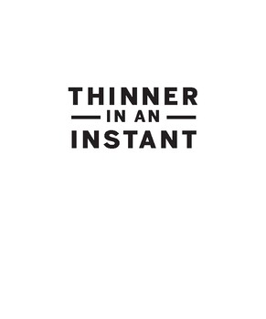 Thinner in An Instant: Great-Tasting Dinners with 350 CALORIES OR FEWER from You
