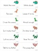 Reading Fluency Games - THIRD 100 Fry Phrases