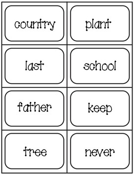 Third 100 Fry Word Flashcards