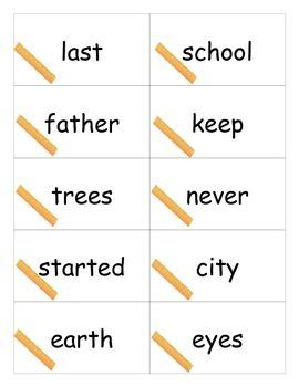 Third 100 Sight Words