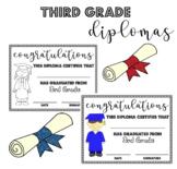 Third (3rd) Grade Graduation Diplomas