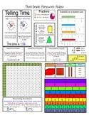 Third (3rd) Grade Math Homework Helper - Common Core
