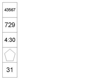 Third Calendar Math Weekly Patterns - for the Upper Grades!