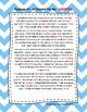 Third Cloze Reading Passages FREEBIE