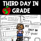 Third Day in Third Grade Activites - No Prep